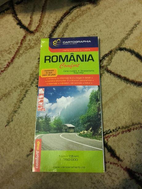 Harta Romania nouă