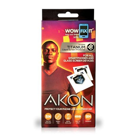 Антибактериален течен протектор WOW FIX IT - Akon