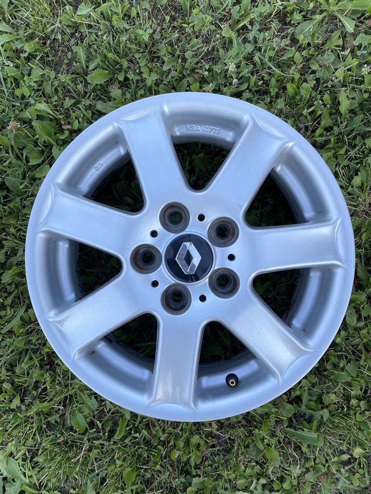 Jante aluminu 5x114,3 R15 Renault