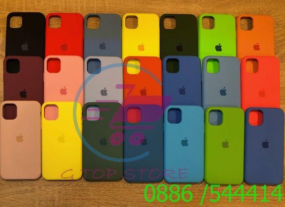 Силиконов кейс Apple iPhone 11 11 Pro 11 Pro Max Xs Max Xr X Xs