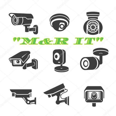 Установка и ремонт камер видеонаблюдения и домофонов