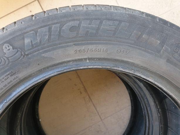 2 x Cauciuc anvelopa vara Michelin 205/ 55/ R16 (an 2015)
