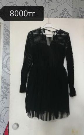 Платье женское, чёрное