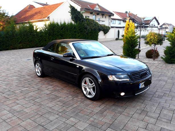 Vand sau schimb Audi A4 Cabrio 2.5tdi ACCEPT VARIANTE +/- OFER DIF
