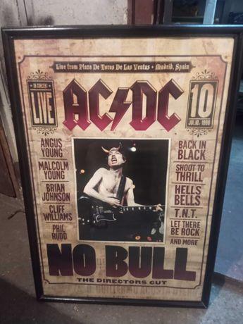 Рамкирани Плакати AC/DC.