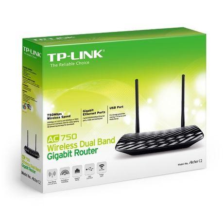 Router TP-Link Archer C2, AC750, Dual Band, Gigabit