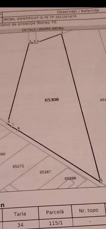 Vând teren Intralivan cu PUZ/PUG zona Chinteni