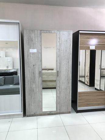 Шкаф Распашной с зеркалом (доставка сборка бесплатно)