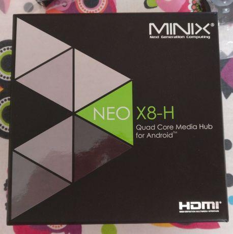 Mini PC - Minix Neo X8-H și telecomandă NEO M1