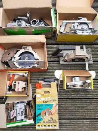 Продавам приспособления за бормашина. Bosch, Metabo и Wolfcraft.