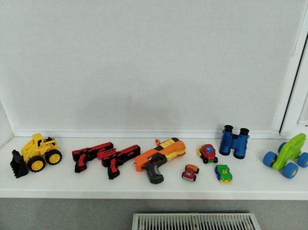 Игрушки машинки мальчиковые