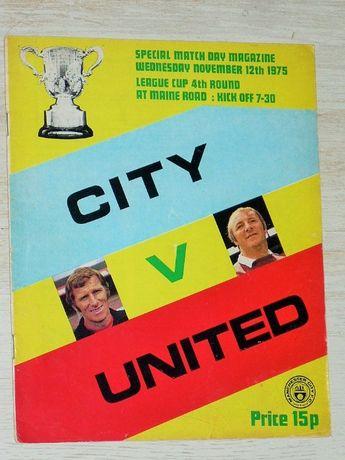 Оригинални футболни програми Манчестър Юнайтед, Ливърпул, Арсенал