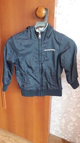 Дувхсторонняя куртка-толстовка