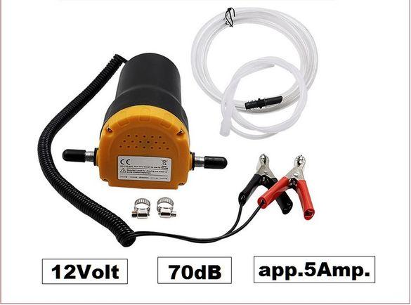 Мобилна електрическа помпа за източване на масло вода гориво 12V