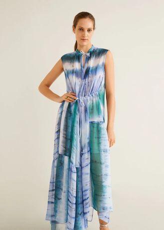 Rochie cu imprimeu tie-dye