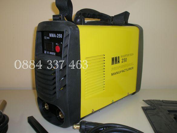 Инверторен електрожен ММА 250 А 303