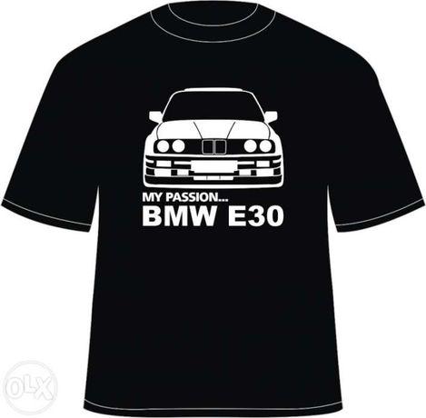 "Tricou personalizat ""my passion... bmw e30"""