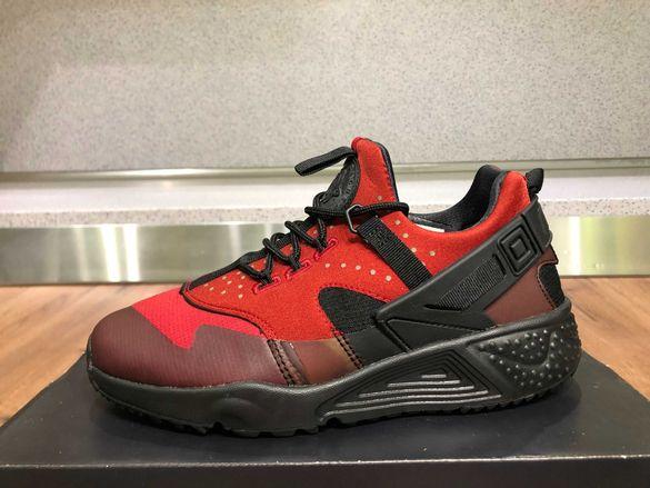 ОРИГИНАЛНИ *** Nike Air Huarache Utility / 'Gym Red Black'