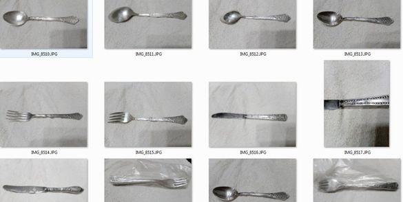 Сребърни прибори за хранене