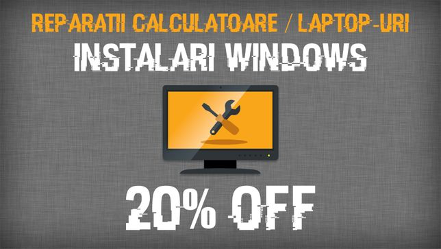 Instalare Windows 7/8.1/10 (licentiat) | Reparatii calculatoare/laptop