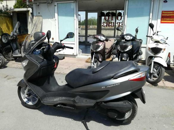 Suzuki Burgman 200i НА ЧАСТИ!!!
