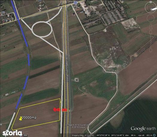 Teren 22000mp Autostrada A3 Moara Vlasiei