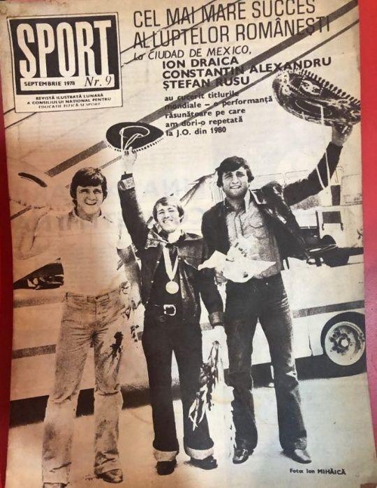 Revista Sport anul 1978 Timisoara - imagine 1