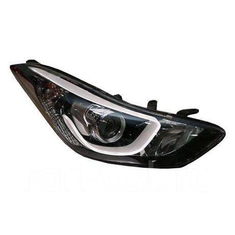 Фары,бамперы,решетка,фонарь на Хюндай Елантра 13-/Hyundai Elantra 13-