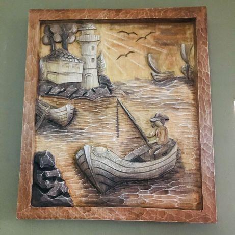 Дърворезба - Край морето
