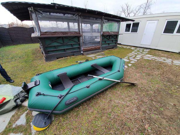 Barca 3m + Motor Mercury 2t 2.5 HP