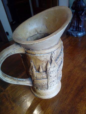 Carafa sculptata măslin antica/vintage/rustic