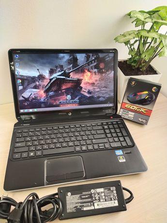 Игровой ноутбук Hp Envy DV6 Core I7! 8-ядерный поток!