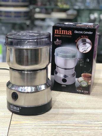 Кофемолка Nima. Многофункциональный мини кухонный комбайн измельчитель