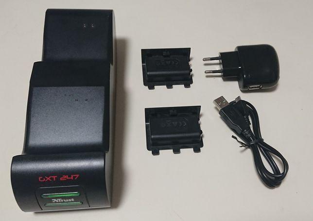 Incarcator/Charging Dock Trust GXT 247 Duo pentru Controllere Xbox One