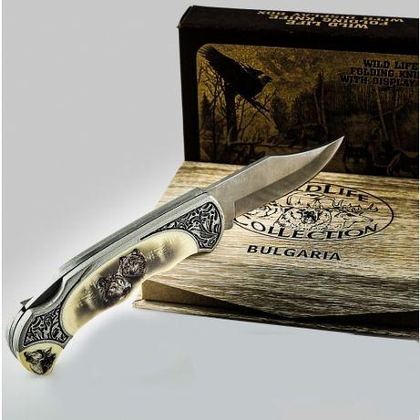 Сувенирен джобен нож с горско животно