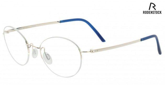 Rame ochelari vedere Rodenstock Titanium 47-21 14cm rotunde