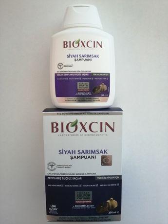 BIOXCIN/Шампоан/Против Косопад/Черен чесън/Грижа за косата/Козметика