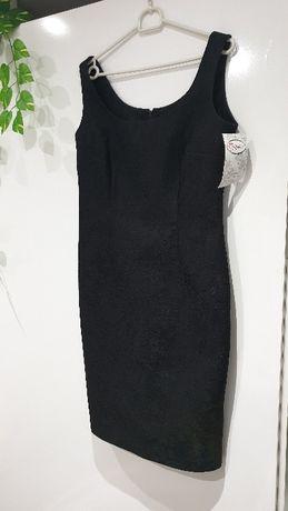 Официална черна рокля Скарлет