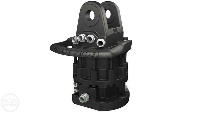 Rotator hidraulic 6 tone (CR-600FW) cu flansa pentru graifer