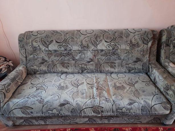 Диван екі кресло
