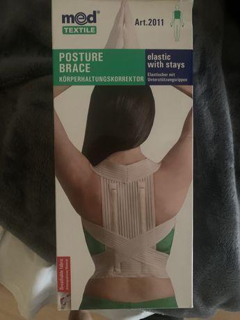Коректор за стойка на гърба с лека фиксация