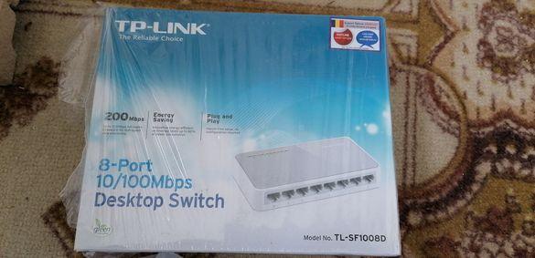 Switch TP-Link 8-Port 10/100Mbps - TL-SF1008D