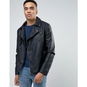 Кожено Яке Barneys Faux Leather Biker Jacket Размер: М