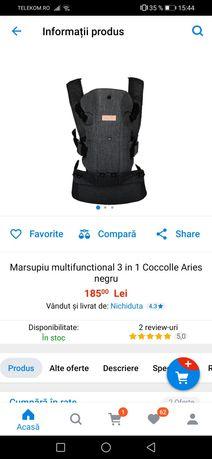 Marsupiu coccolle aries