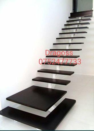 Executam la comanda scări interioare și exterioare și spiralate