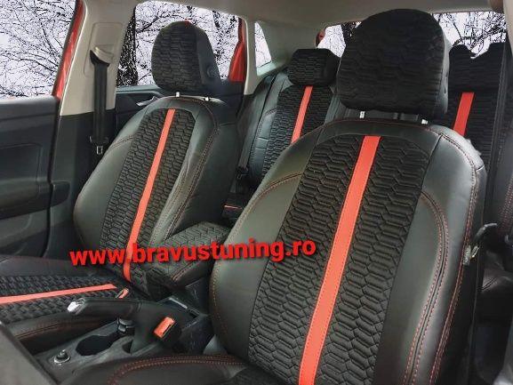 Huse scaun auto F1 set complet BMW,Audi,Skoda,Mercedes,Opel,Ford,Seat