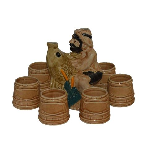 Керамичен сервиз за ракия