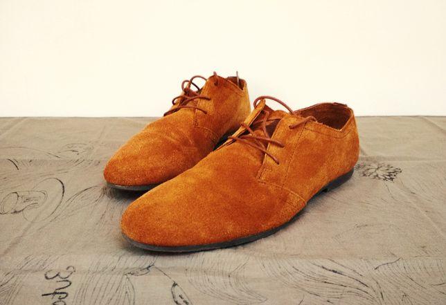Pantofi barbatesti din piele intoarsa nr 42