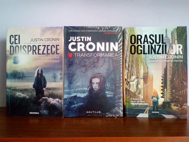 Justin Cronin - trilogia Transformarea (The Passage)