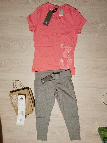 Спортен клин и тениска adidas